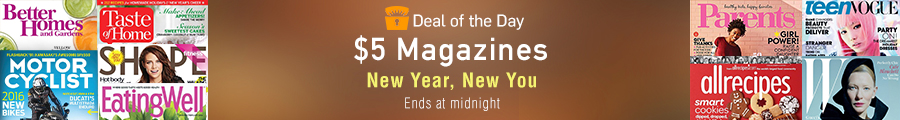Deal of the Day: $5 Magazines