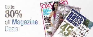 Save Up to 80% on Magazine Gift Deals