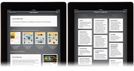 New on Kindle Fire tablets and Kindle for iPad: X-Ray for Textbooks