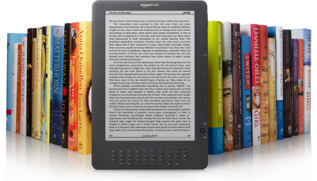 Amazon, Kindle, Fire, Touch, DX, Toby Elwin, e ink, tablet, e-readers