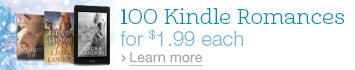 100 Kindle Romances for $1.99 Each