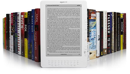 The Kindle Store: 400,000 Books, Newspapers, Magazines, and Blogs