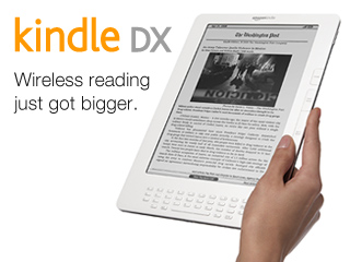 Kindle DX Wireless Reading Device (9.7&quot; Display, U.S. Wireless)
