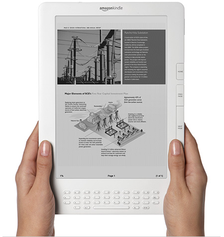 Kindle DX: Amazon's New Addition To the Kindle Family