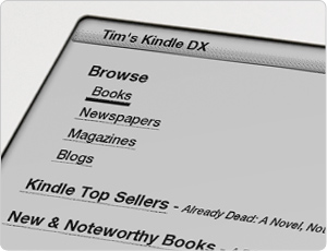 Shop the Kindle Store right on your device
