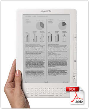 Built-in PDF reader