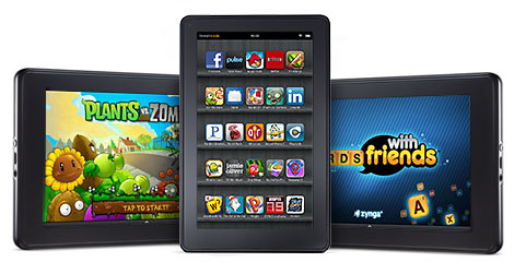 A look at the current Kindle Fire tablet.