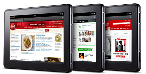 Light My Fire - the Amazon Fire Tablet
