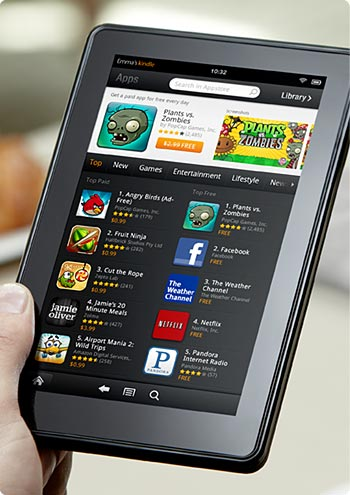Your favorite apps and games: Angry Birds, Plants vs. Zombies, and more
