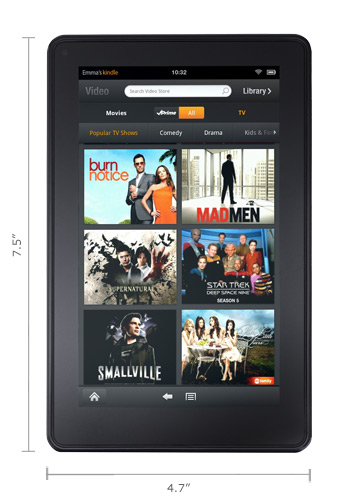 Kindle Fire color Kindle