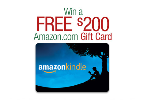 Win a FREE $200 Amazon.com Gift Card.