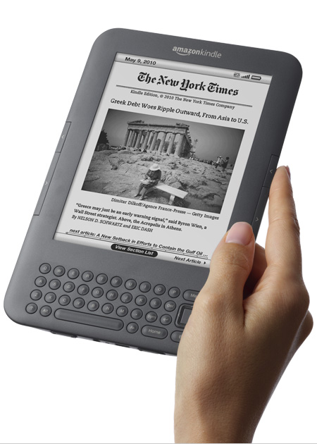 Kindle, Wi-Fi, Graphite, 6'' Display with New E Ink Pearl Technology - includes Special Offers & Sponsored Screensavers - Only $114 + Free Shipping