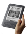 Kindle in a hand