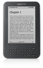 Kindle 3G, Free 3G + Wi-Fi, 3G Works Globally, Graphite, 6' Display with New E Ink Pearl Technology [Includes USB Cable for Charging. For International Shipment]