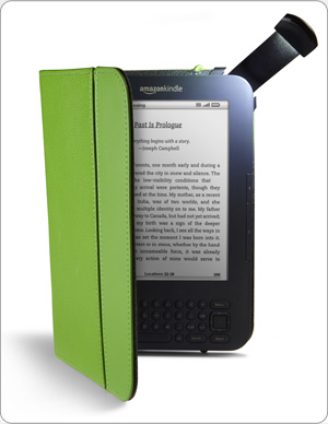 Kindle Lighted Leather Cover, sold separately