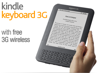 Amazon Kindle 3G eBook Reader for $139 + free shipping via Special Offers
