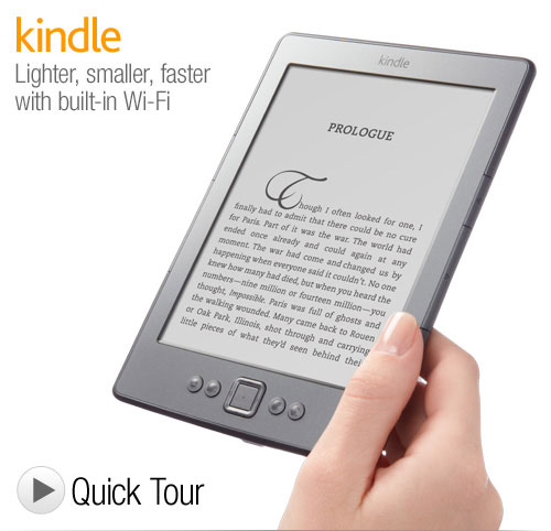 Kindle Wi-Fi 6 inch