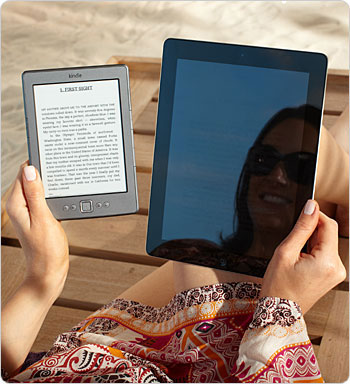 Unlike LCD displays, Kindle Kindle has no glare.