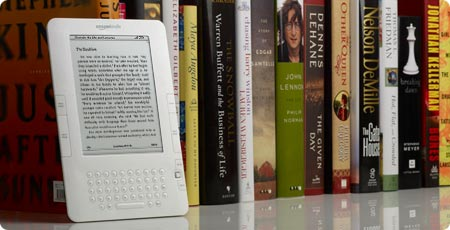 Amazons second generation Kindle, the Kindle 2