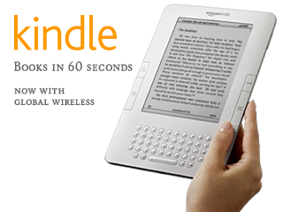 Kindle Wireless Reading Device (6&quot; Display, Global Wireless, Latest Generation)