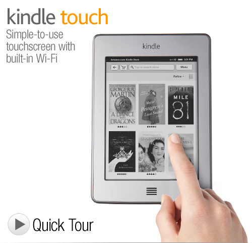 Kindle Wi-Fi, 6 E Ink Display