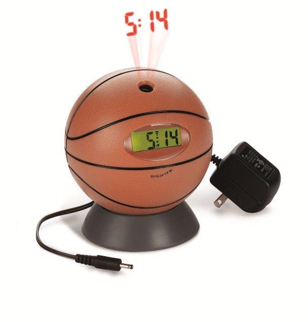 Basketball Projection Clock Unique Alarm Clocks