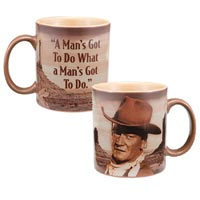 A man's got to do... 12-Ounce Ceramic Mug