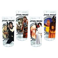 Star Wars 10-Ounce Glasses