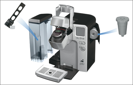 Keurig Coffee Maker Not Ready Blinking : Cuisinart SS-700 Single-Serve Keurig Brewed Coffee System GoSale Price Comparison Results