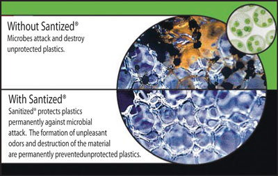 sanitized antimicrobial protection