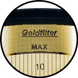Gold filter