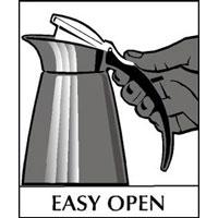 Easy open lid