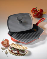Cherry Skillet Grill with Panini Press