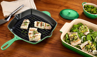 Fennel Skillet Grill with Panini Press