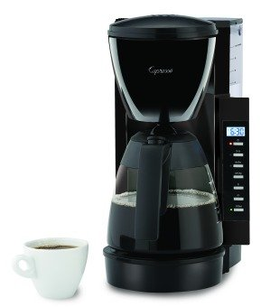 Coffee Maker Clean Light Blinking : Amazon.com: Capresso CM200 10-Cup Programmable Coffee Maker, Black: Drip Coffeemakers: Kitchen ...