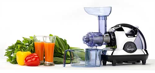 Kuvings NJE 3570U Masticating Slow Juicer, Chrome%