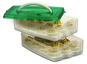 double deviled egg carrier