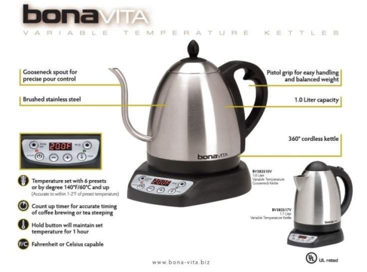 Bonavita Variable Temperature Kettles