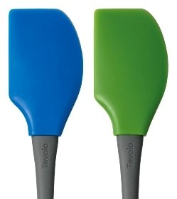 Blue and Green Spatula Heads