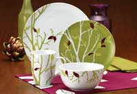 Rachael Ray Dinnerware Seasons Changing 16-Piece Dinnerware Set