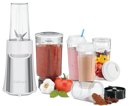 Cuisinart CPB 300 SmartPower 15 Piece Compact Portable Blending/Chopping System, Black%