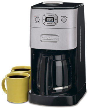 Amazon.com: Cuisinart DGB-625BC Grind-and-Brew 12-Cup Automatic Coffeemaker, Brushed Metal: Drip ...