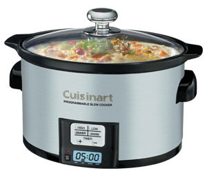 Cuisinart PSC 350 3 1 2 Quart Programmable Slow Cooker