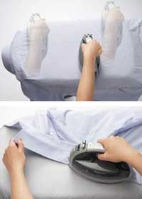 Smooth ironing