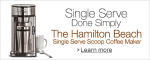 Hamilton Beach Single-Serve Scoop Coffeemaker