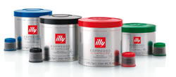 illy four variety containers