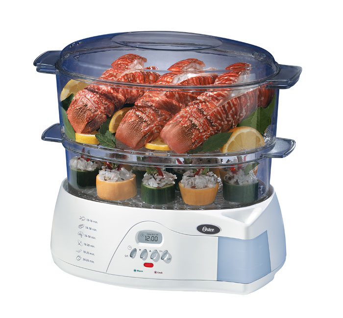 Amazon Com Oster 5712 Electronic 2 Tier 6 1 Quart Food