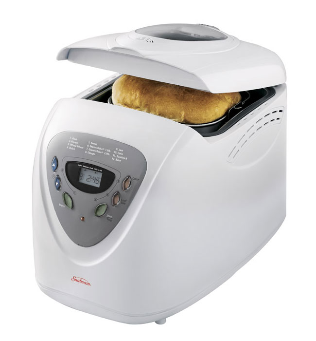 Sunbeam 2-Pounds Breadmaker, White: Amazon.ca: Home & Kitchen