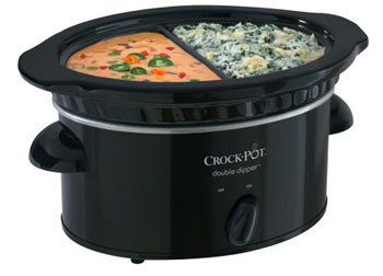 Crock-Pot Double Dipper 32-Ounce Food Warmer