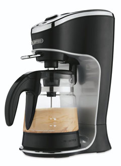 product reviews and customer ratings for Mr. Coffee Cafe Latte Home Brewer, Black BVMC-EL1